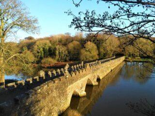 The Battlemented Bridge and Church