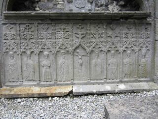 An Extraordinary Carved Tomb