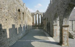 View inside the Chapel of Ardfert Cathedral