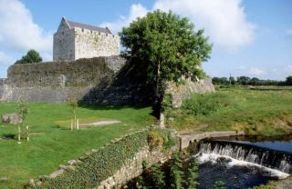 Athenry Castle by river