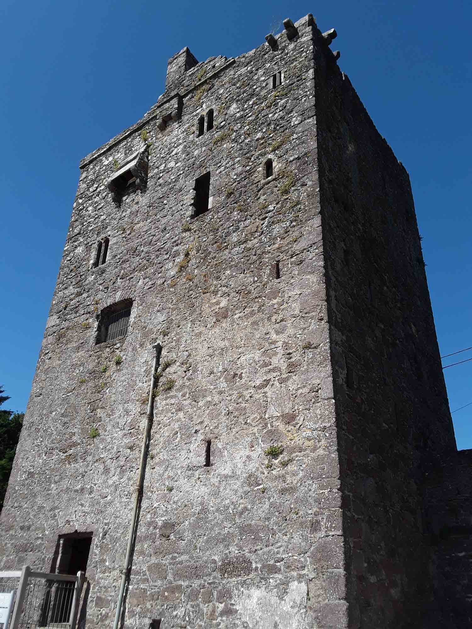 Defensive features at Ballyhack Castle