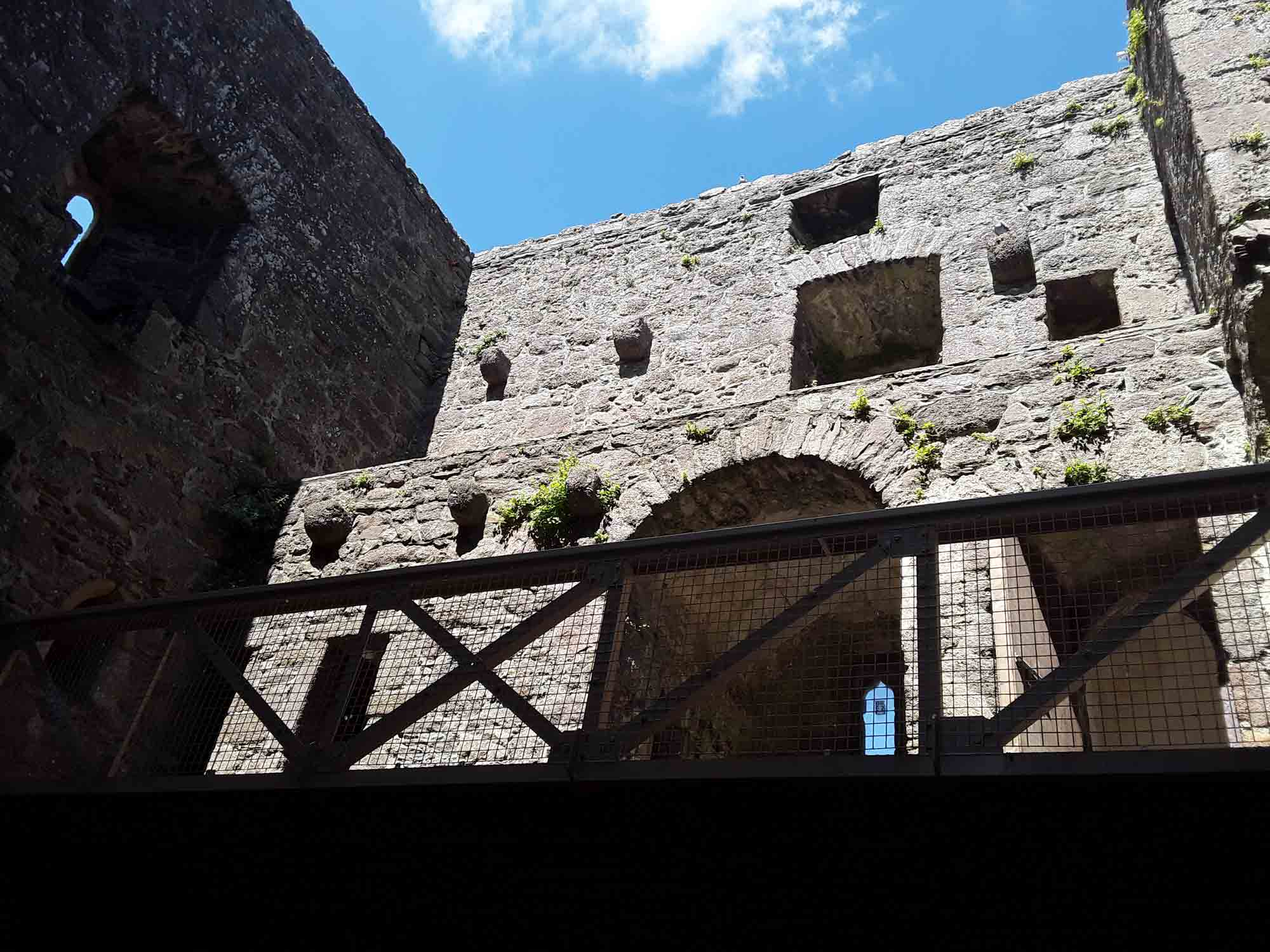 Interior Walls of Ballyhack Castle