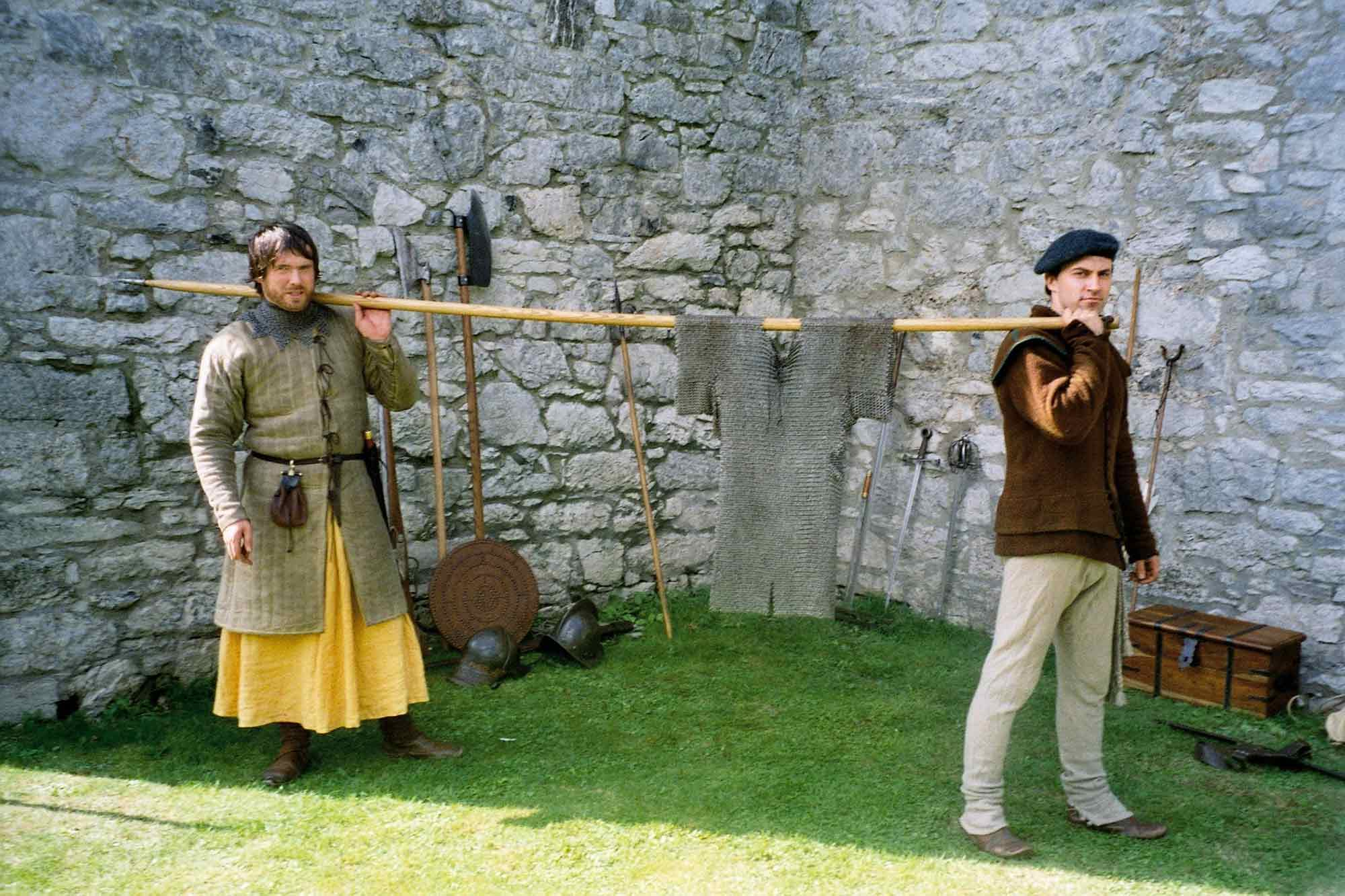 How armour was used at Barryscourt Castle