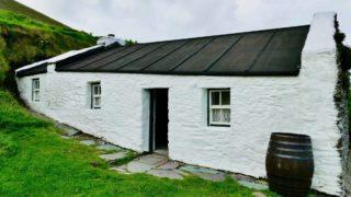 Exterior of Tomás Ó Criomhthain's house