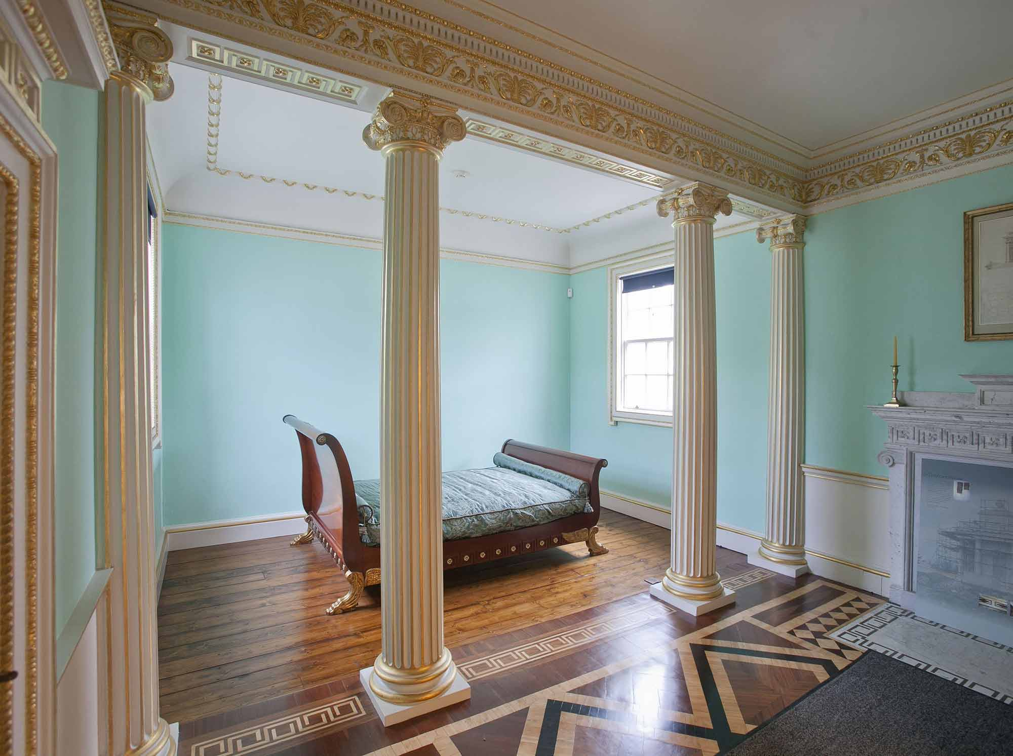 State bedroom