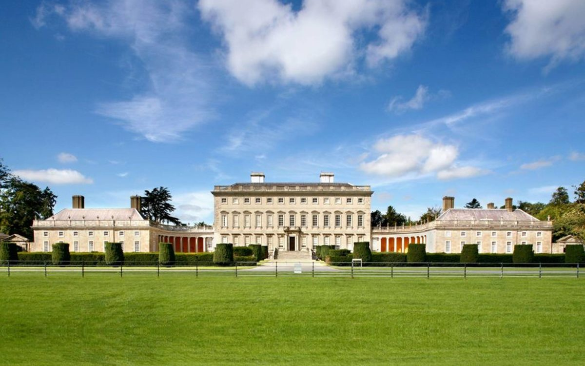 Front of Castletown House