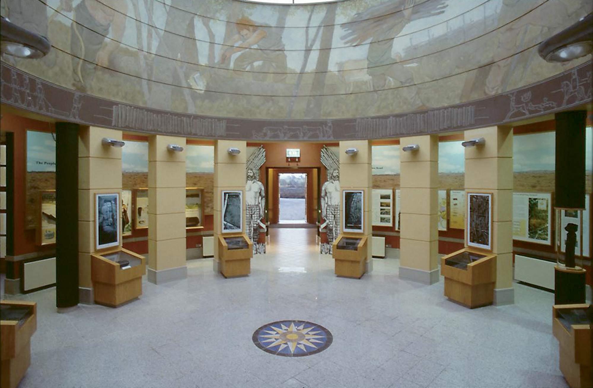 Interior of the Visitor Centre