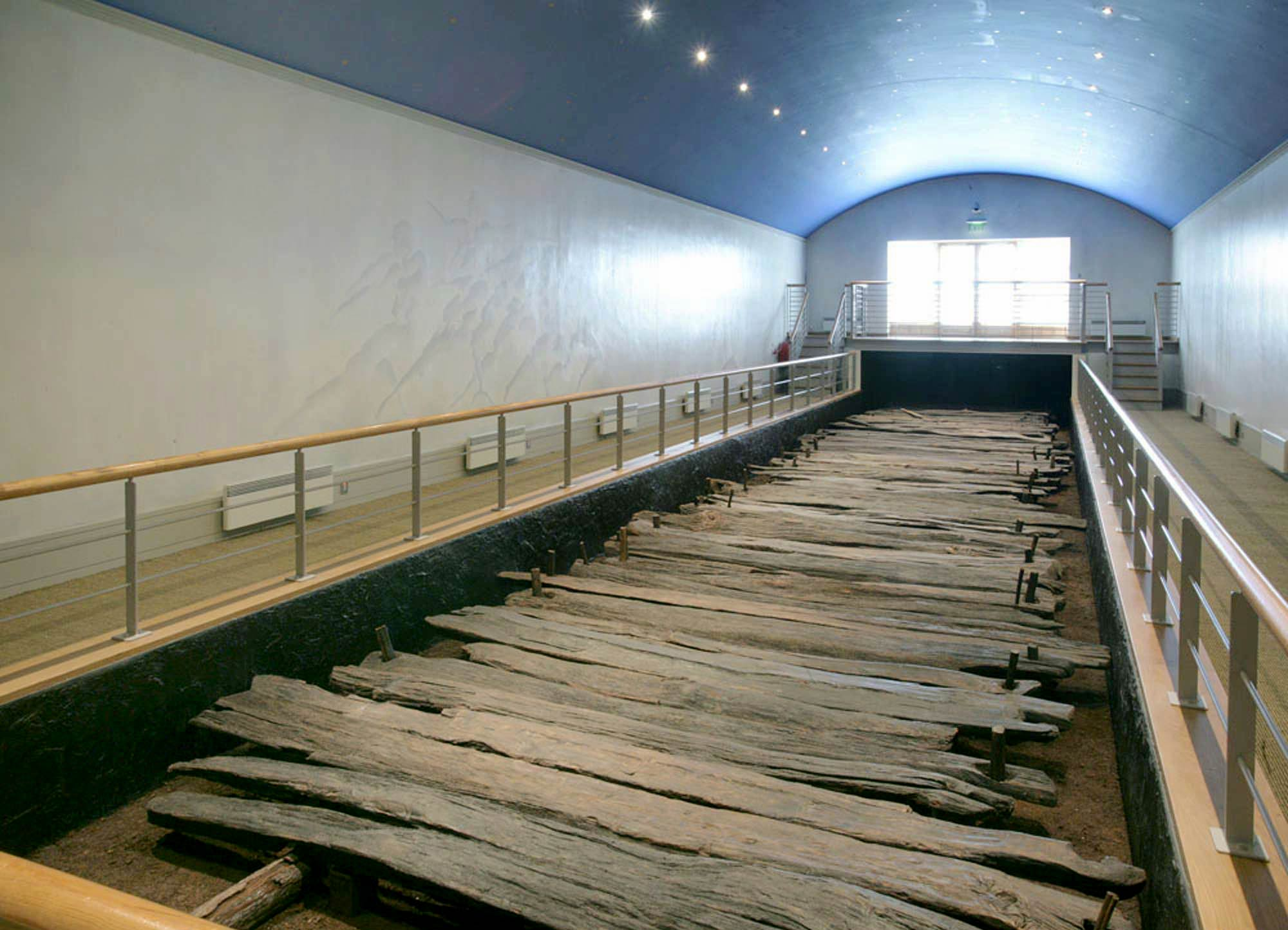 Trackway at the Visitor Centre