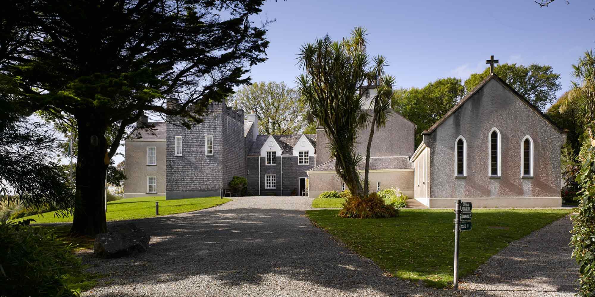 Derrynane House Entrance