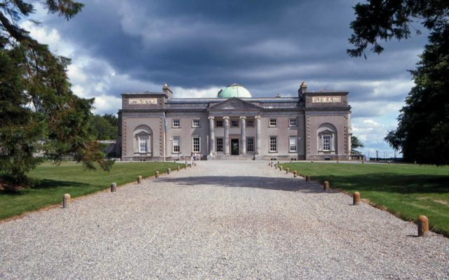 Front driveway to Emo Court