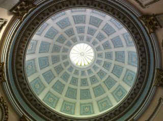 The rotunda dome