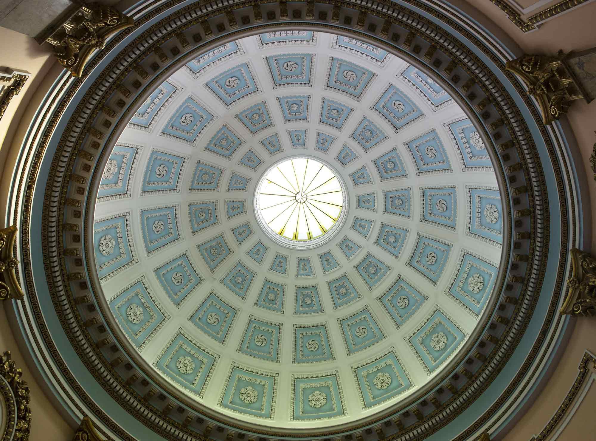 The rotunda dome