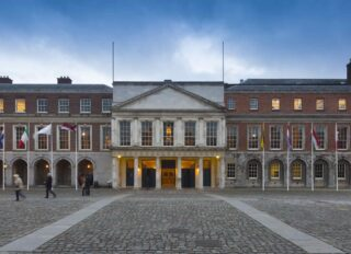 Facade of Dublin Castle