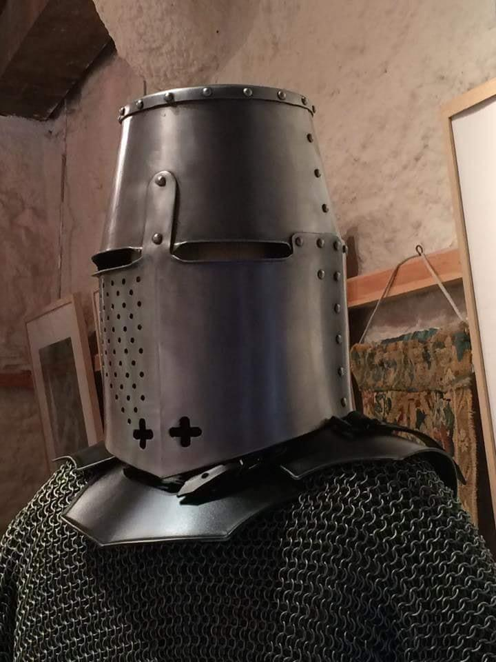 Try the great helm for size!
