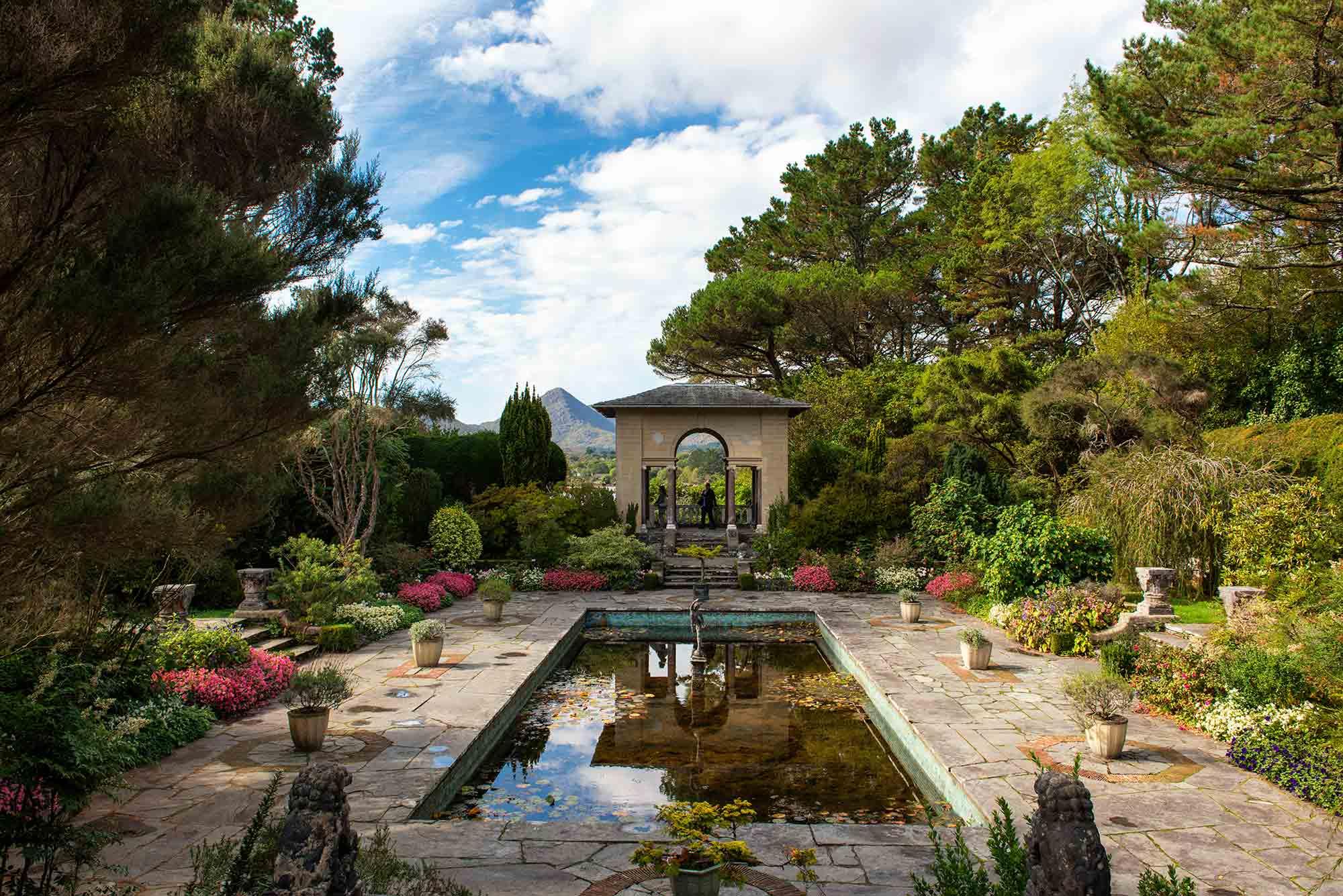 The pond in the Italian garden