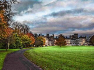 Kilkenny Castle in Autumn