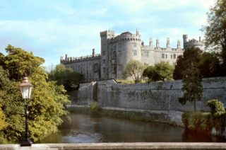 View of Kilkenny Castle from the River Nore