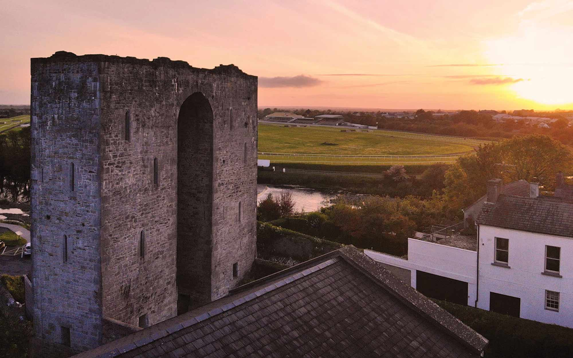 Sunset at Listowel Castle