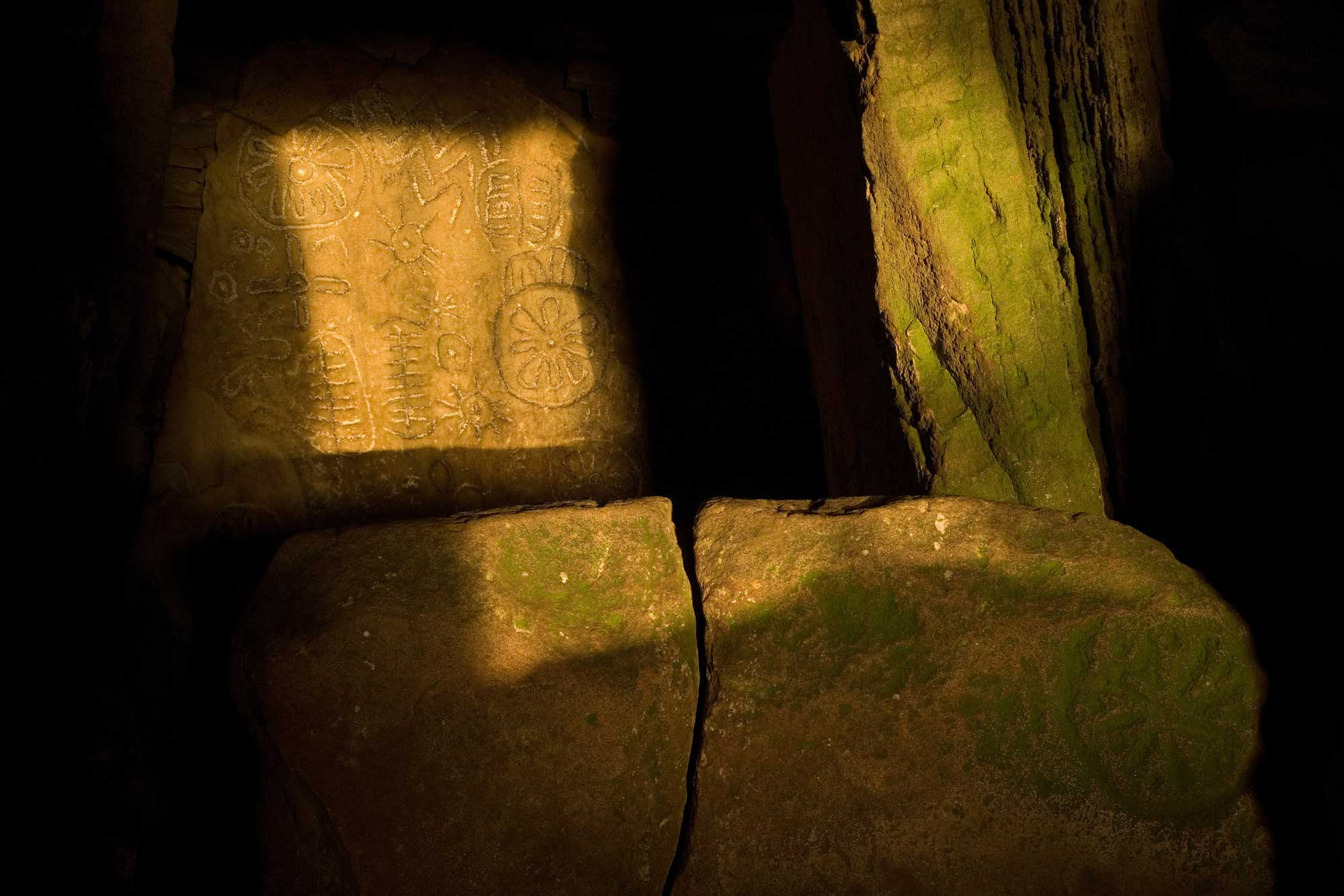 Equinox at Loughcrew Cairn