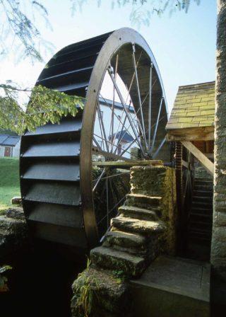 Newmills wheel detail