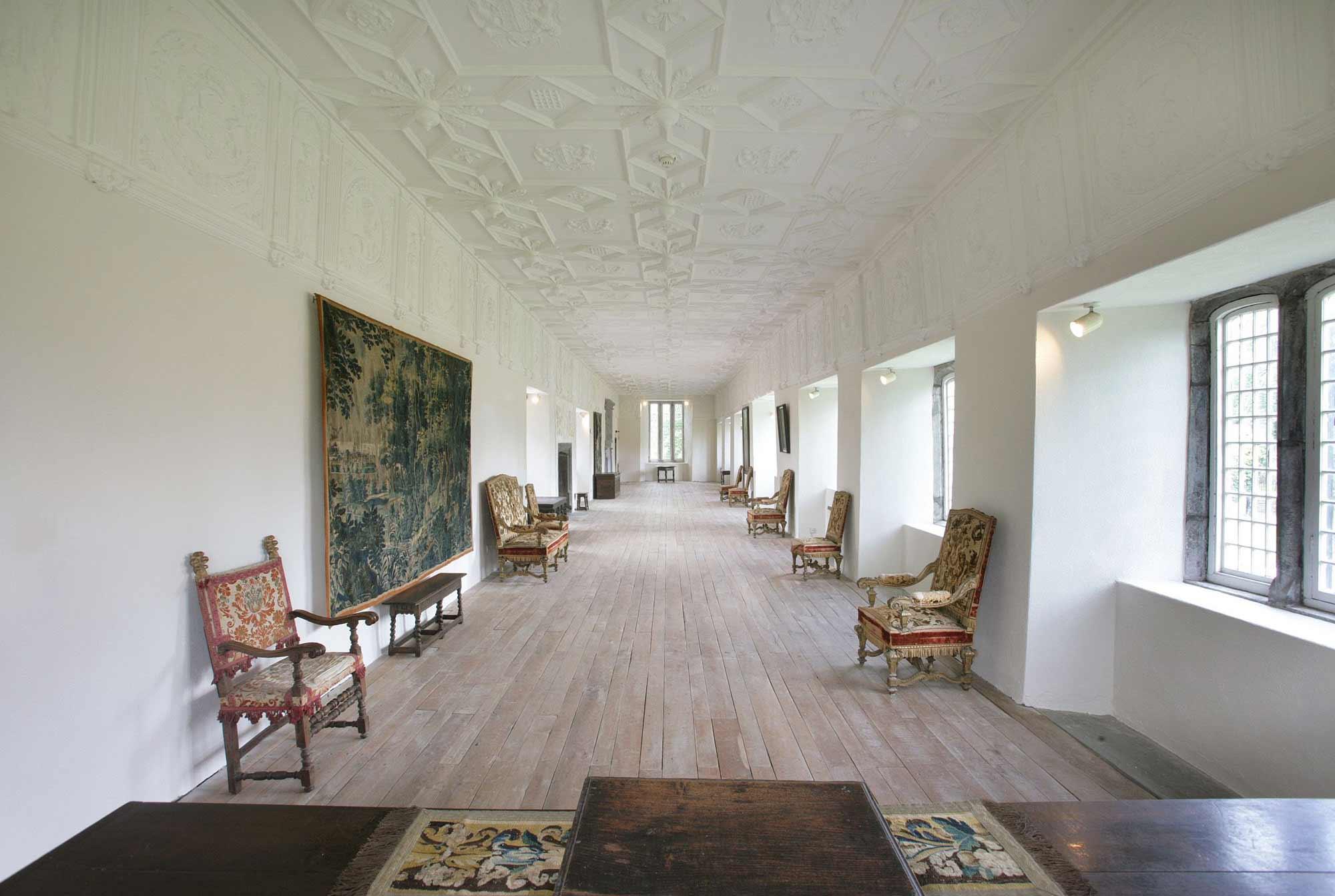 Ormond Castle hall