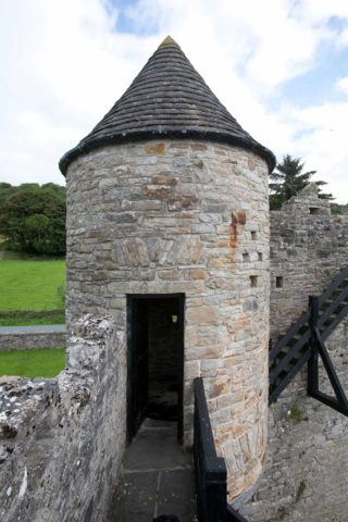North west pigeon tower