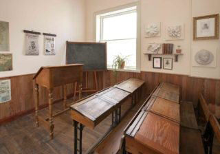 Pearse Museum school room