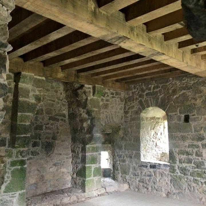 Interior of Prior's tower - limited access