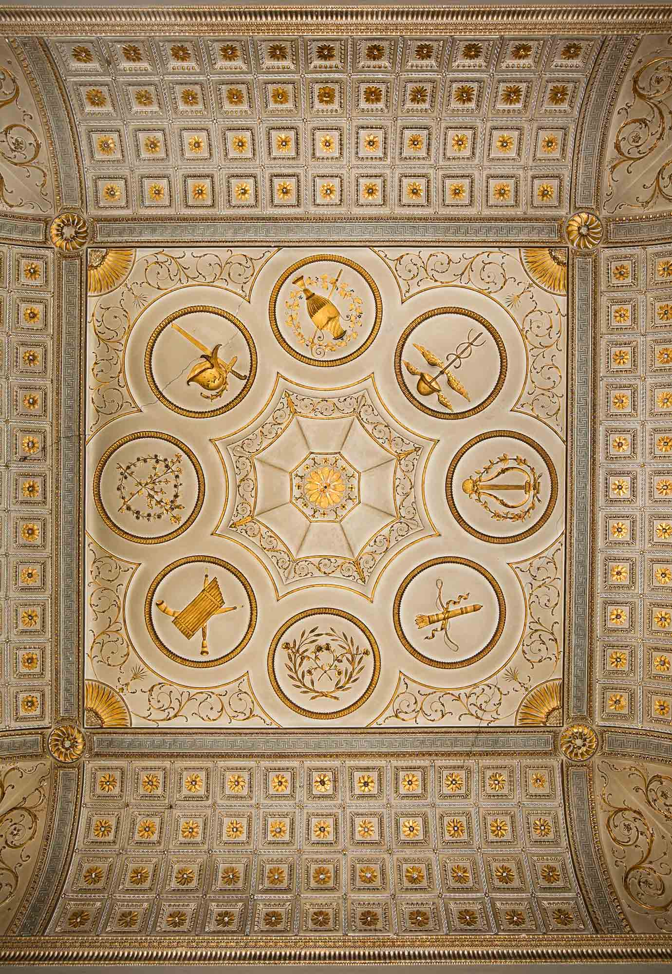 Gilt Room Ceiling