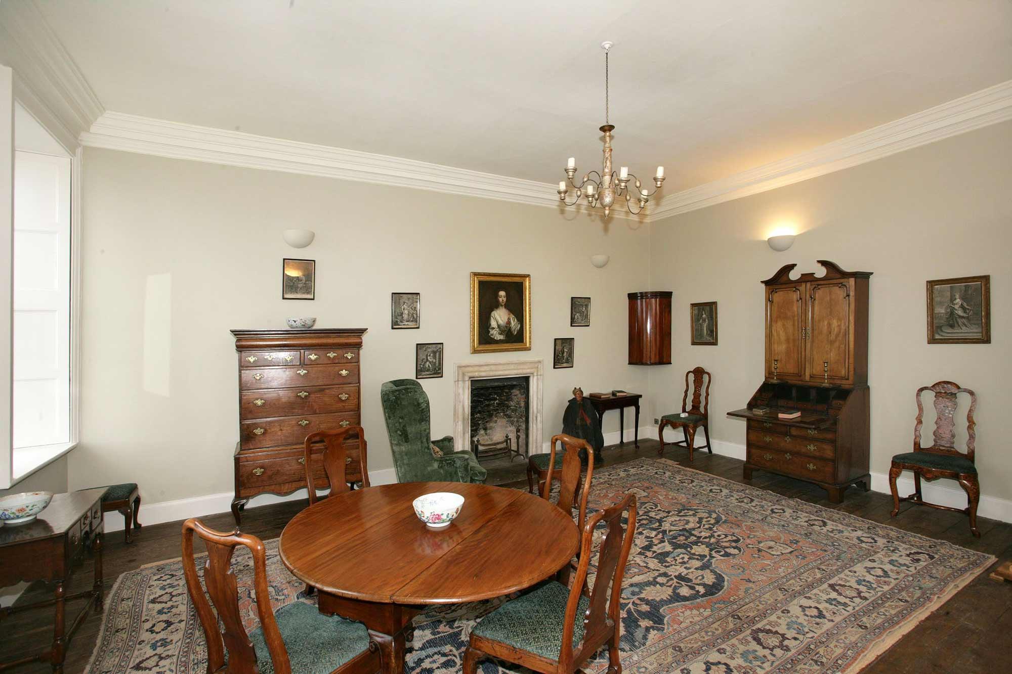 Damer House interior