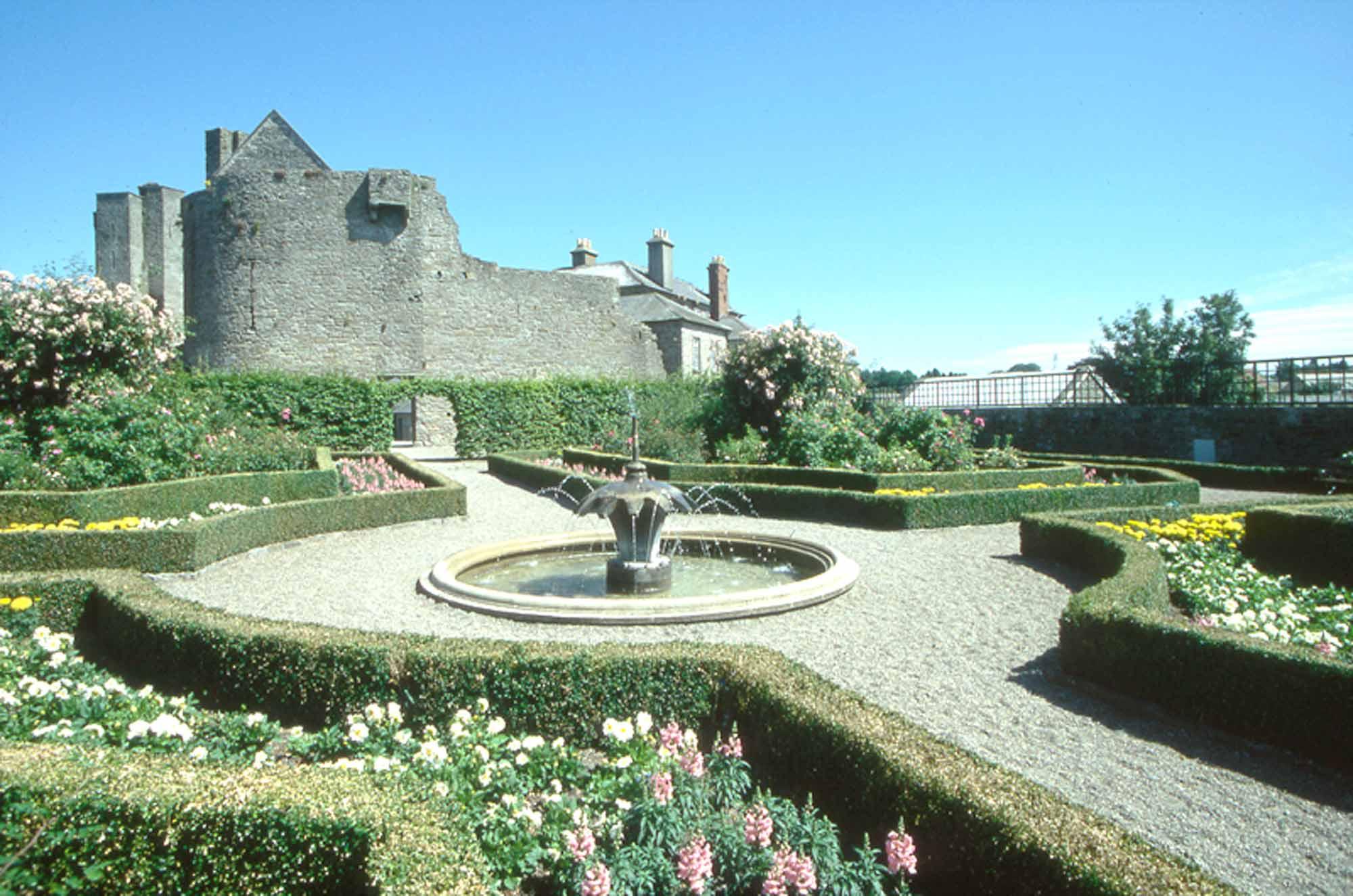 Roscrea Castle Walled Garden