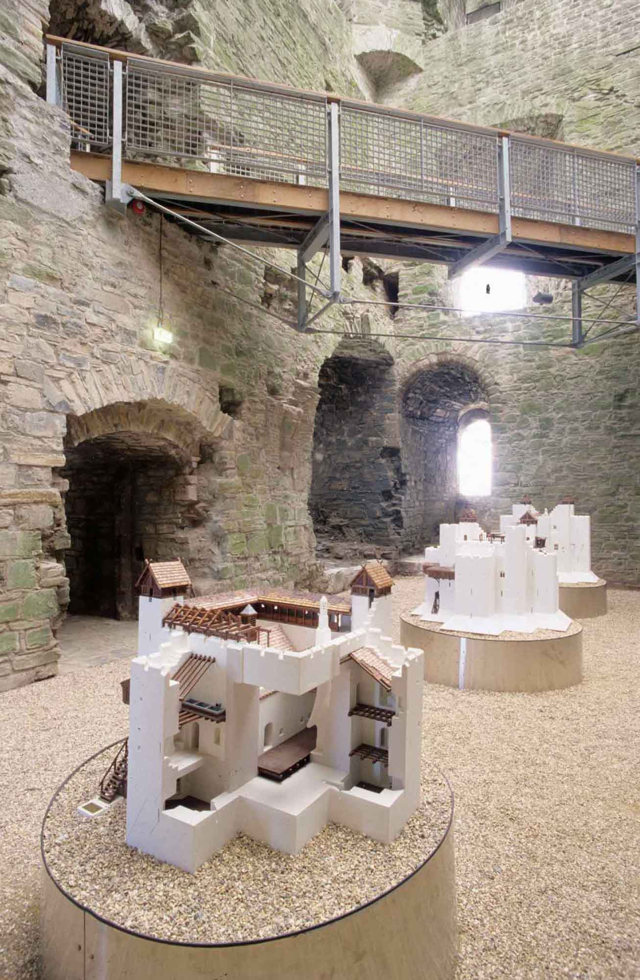 Trim Castle ground floor exhibition