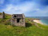 Deserted Cottages on Great Blasket Island