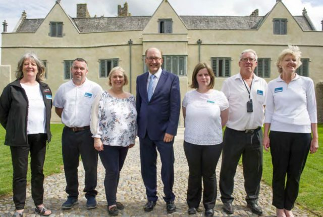 Guide staff at Ormond Castle