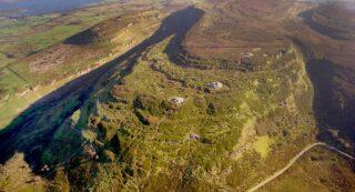 Aerial photo of Carrowkeel.