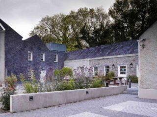 Newly refurbished courtyard