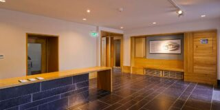 Image of new reception area