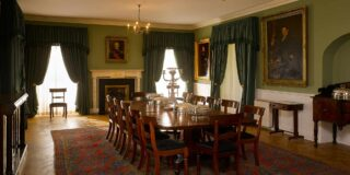 Dining Room at Derrynane House