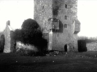 Figure 6: The remains of Edmund O'Flaherty's house in 1945.