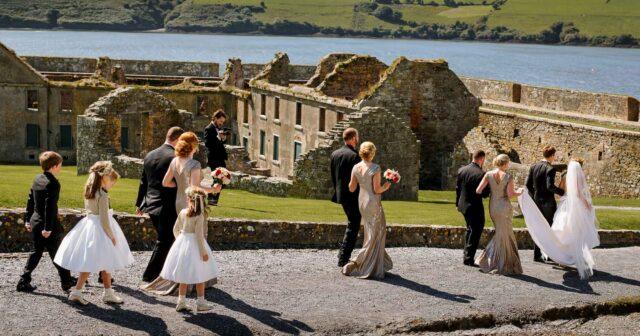 Charles Fort Wedding