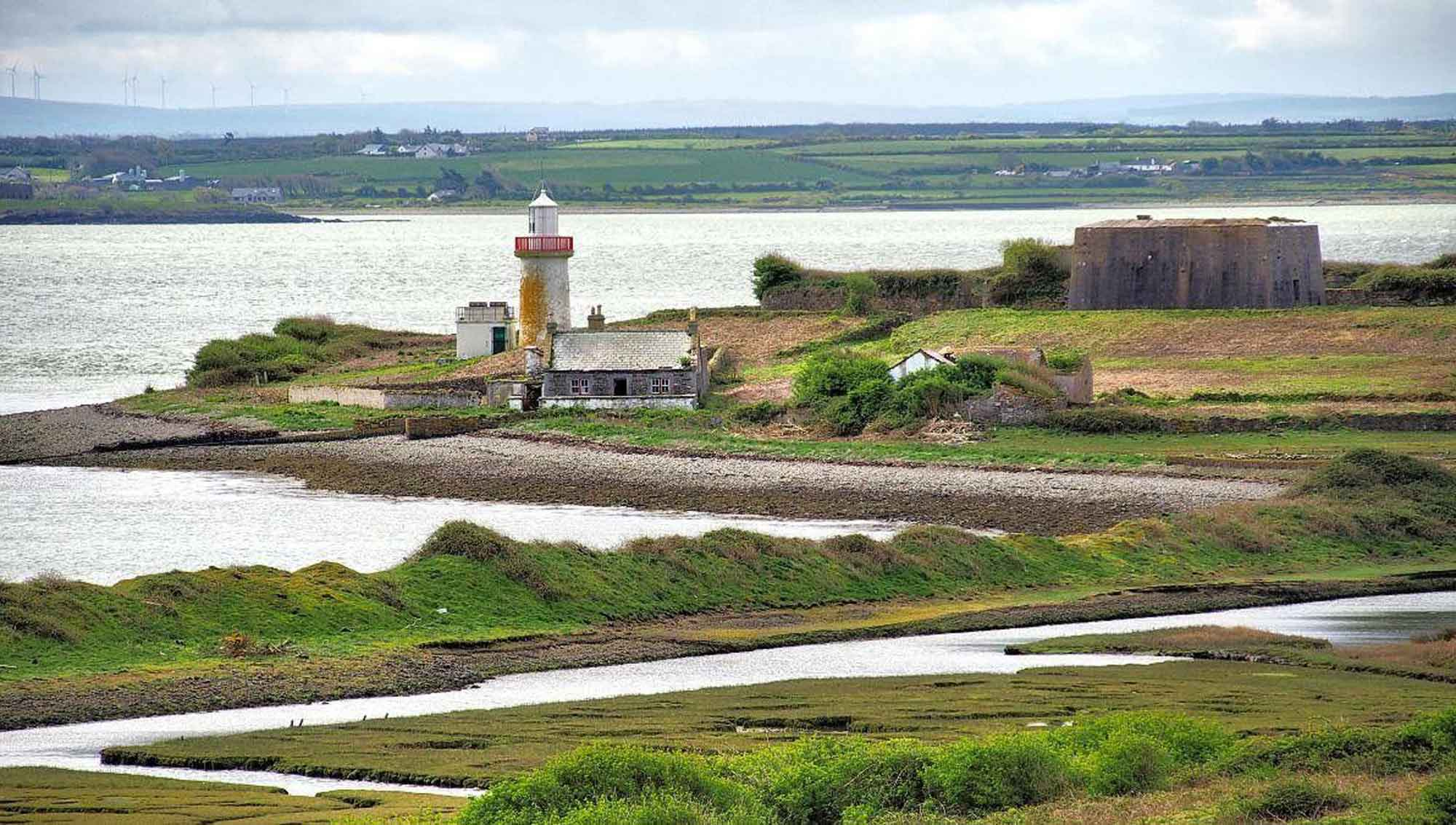 Lighthouse at Scattery Island