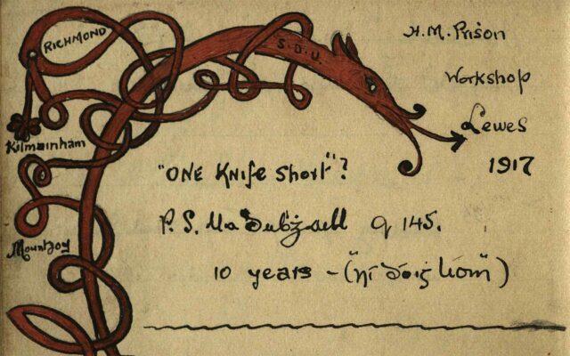 Kilmainham Gaol Autograph