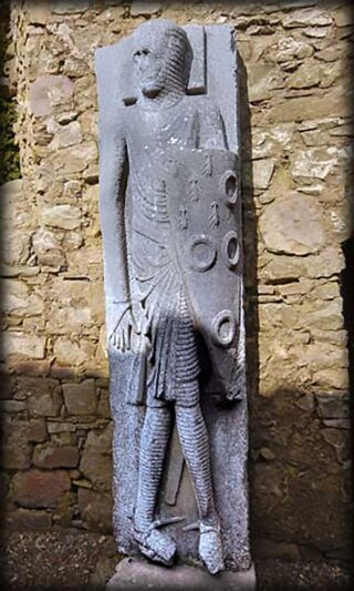 Long Man of Kilfane Effigy – near Thomastown
