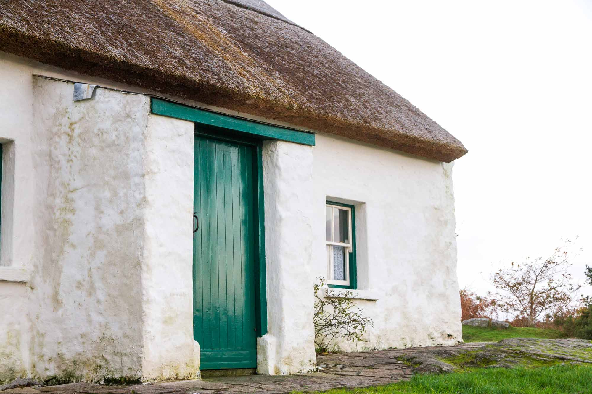 Doorway of Patrick Pearse's Cottage