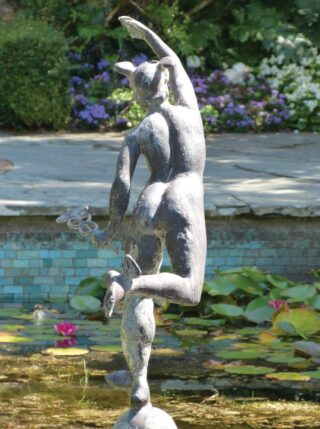Statue of Mercury – The Lily Pond