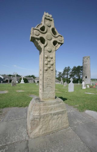 High cross at Clonmacnoise, Co. Offaly