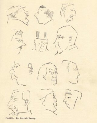 Caricatures Christmas 1909