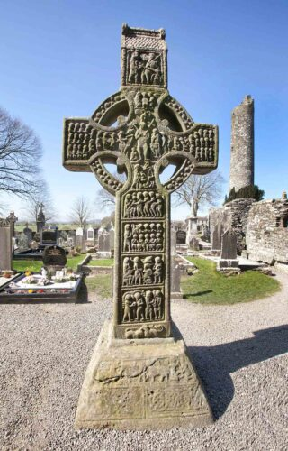High cross at Monasterboice, Co. Louth