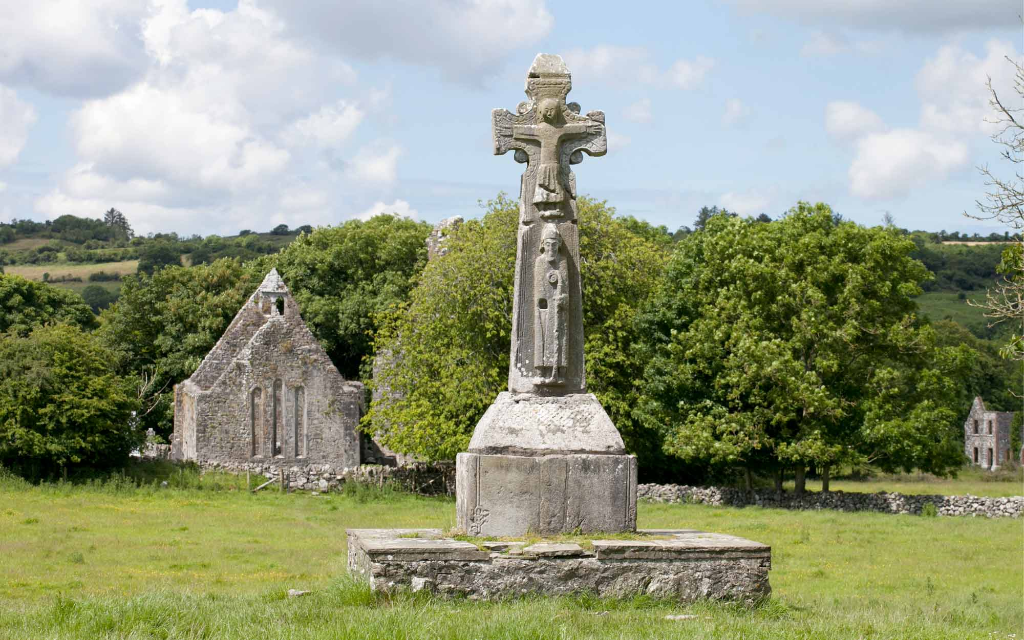 Dysert O'Dea high cross, Co Clare