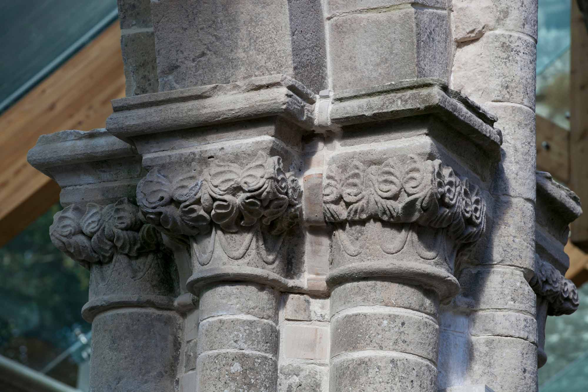 Pier capital, south arcade of the nave